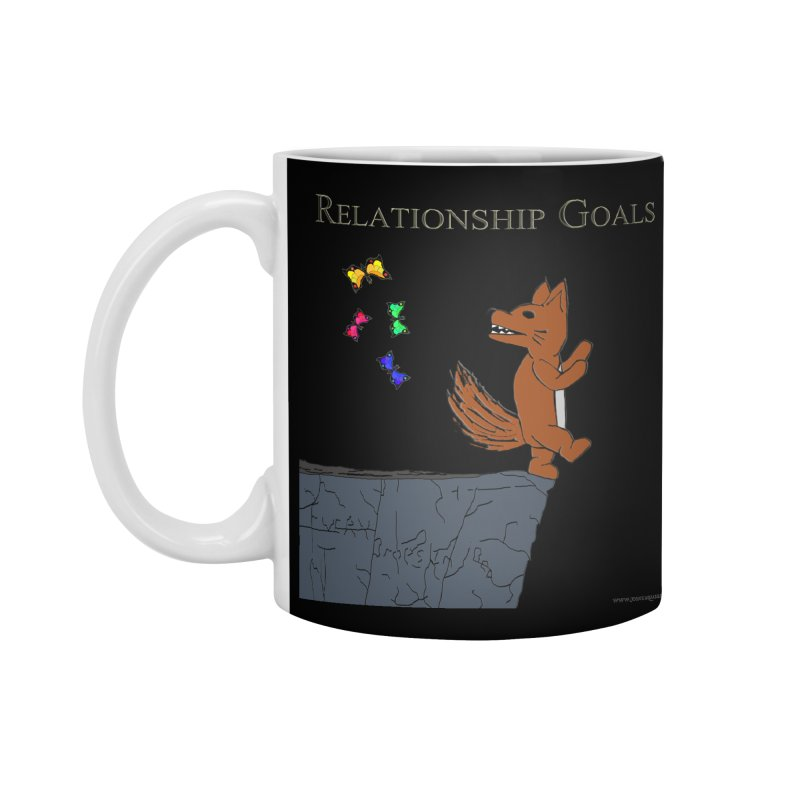 Relationship Goals Accessories Mug by Every Drop's An Idea's Artist Shop