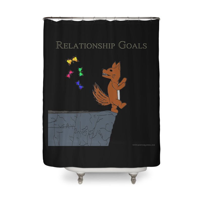 Relationship Goals Home Shower Curtain by Every Drop's An Idea's Artist Shop