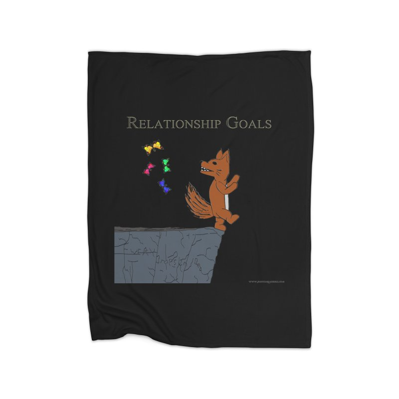 Relationship Goals Home Blanket by Every Drop's An Idea's Artist Shop