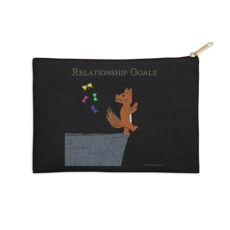 Relationship Goals Accessories Zip Pouch by Every Drop's An Idea's Artist Shop