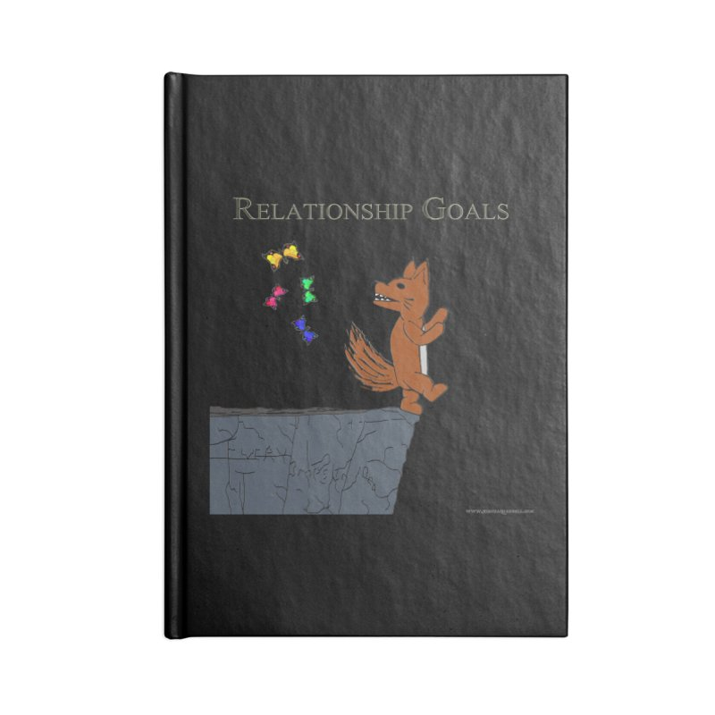 Relationship Goals Accessories Notebook by Every Drop's An Idea's Artist Shop