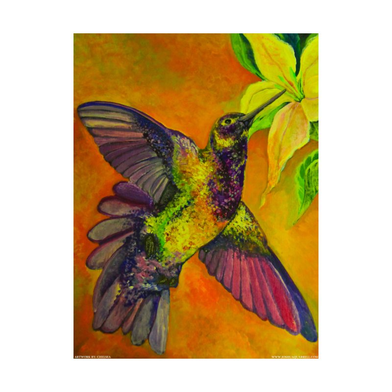A Hummingbird's Desire by Every Drop's An Idea's Artist Shop