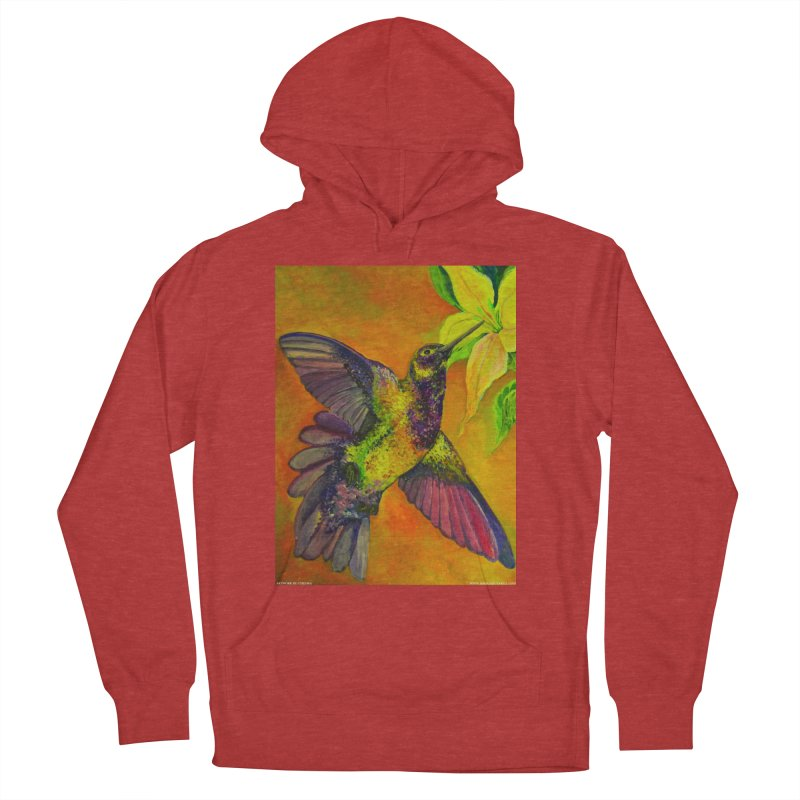 A Hummingbird's Desire Men's Pullover Hoody by Every Drop's An Idea's Artist Shop