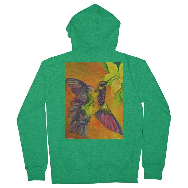 A Hummingbird's Desire Women's Zip-Up Hoody by Every Drop's An Idea's Artist Shop