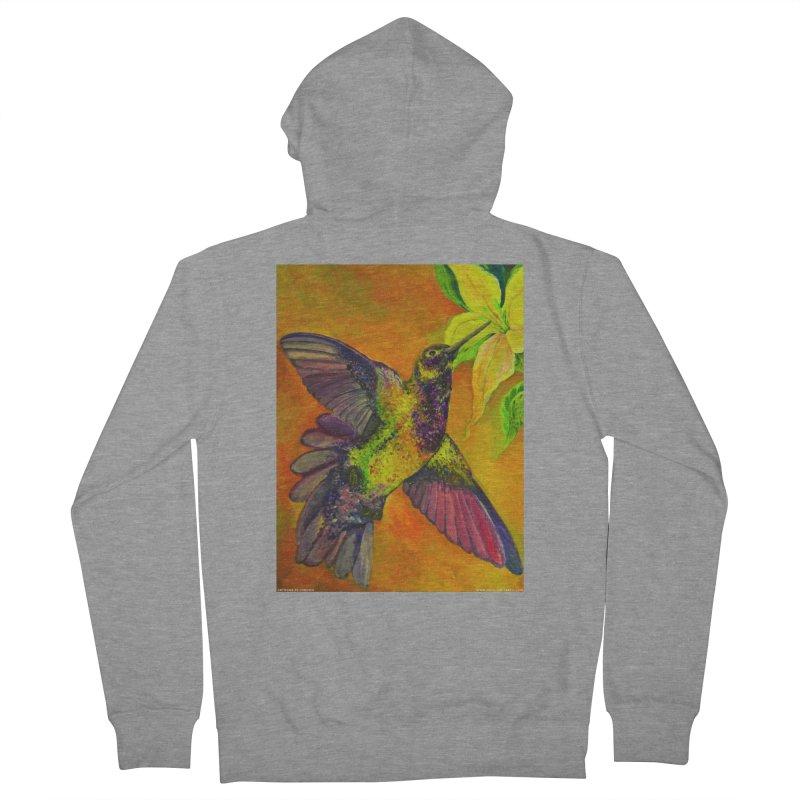 A Hummingbird's Desire Men's Zip-Up Hoody by Every Drop's An Idea's Artist Shop