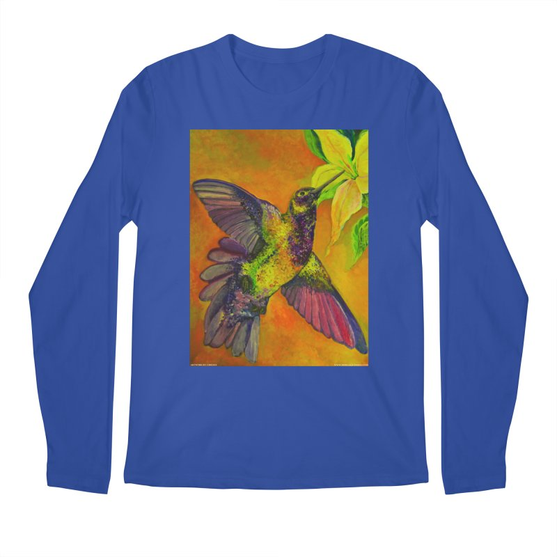 A Hummingbird's Desire Men's Longsleeve T-Shirt by Every Drop's An Idea's Artist Shop