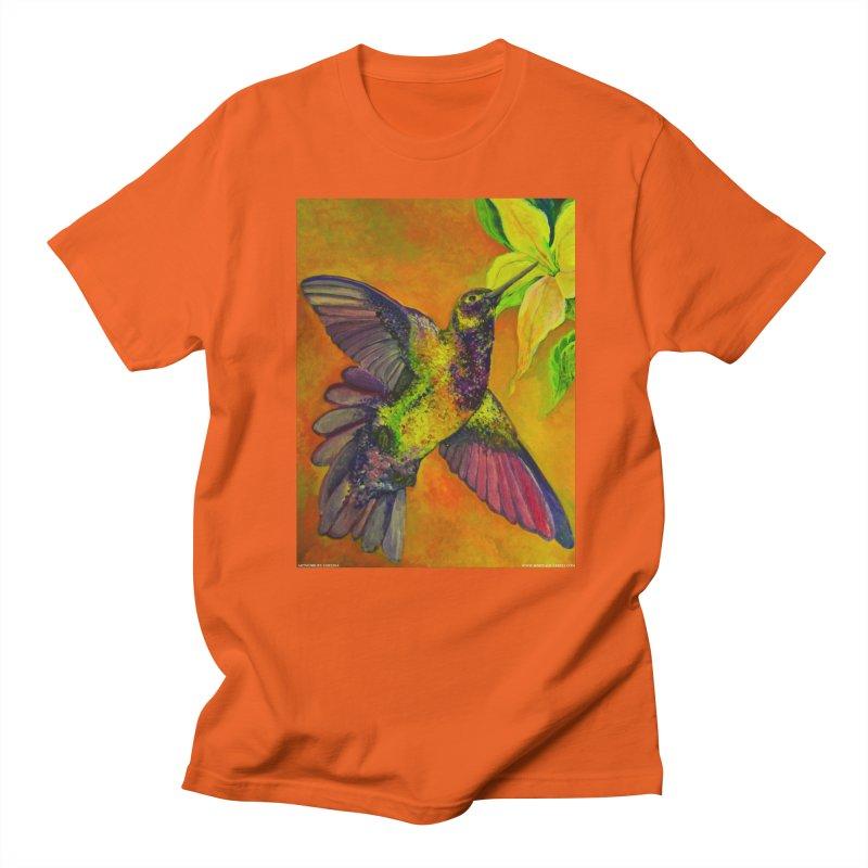A Hummingbird's Desire Men's T-shirt by Every Drop's An Idea's Artist Shop