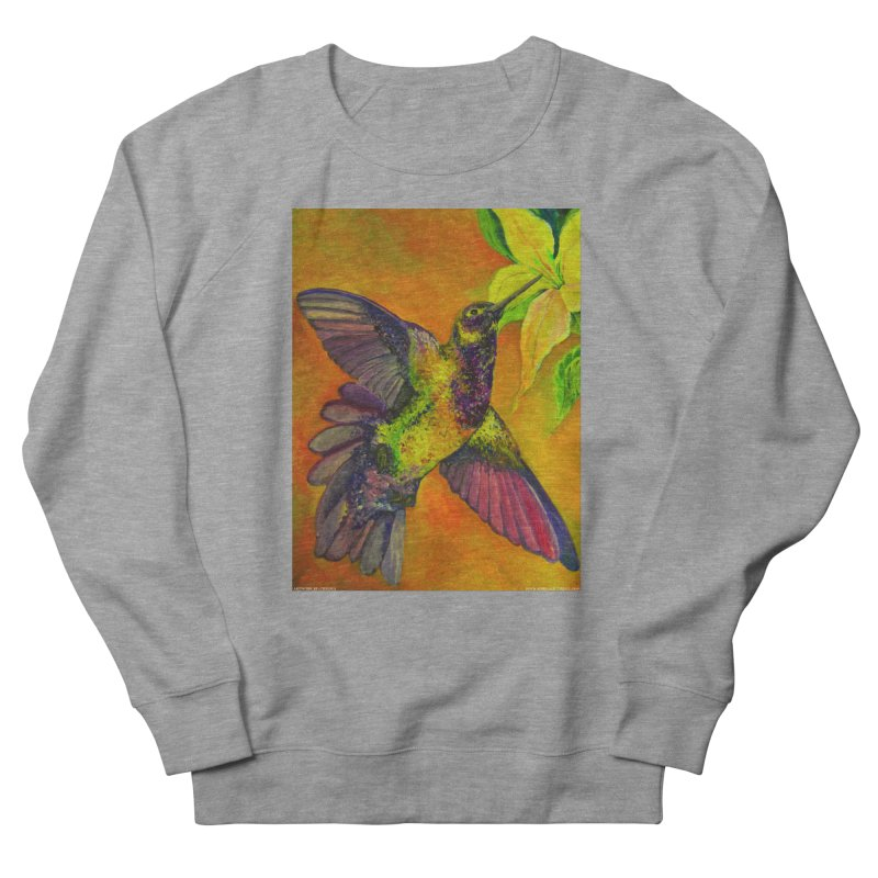 A Hummingbird's Desire Women's Sweatshirt by Every Drop's An Idea's Artist Shop