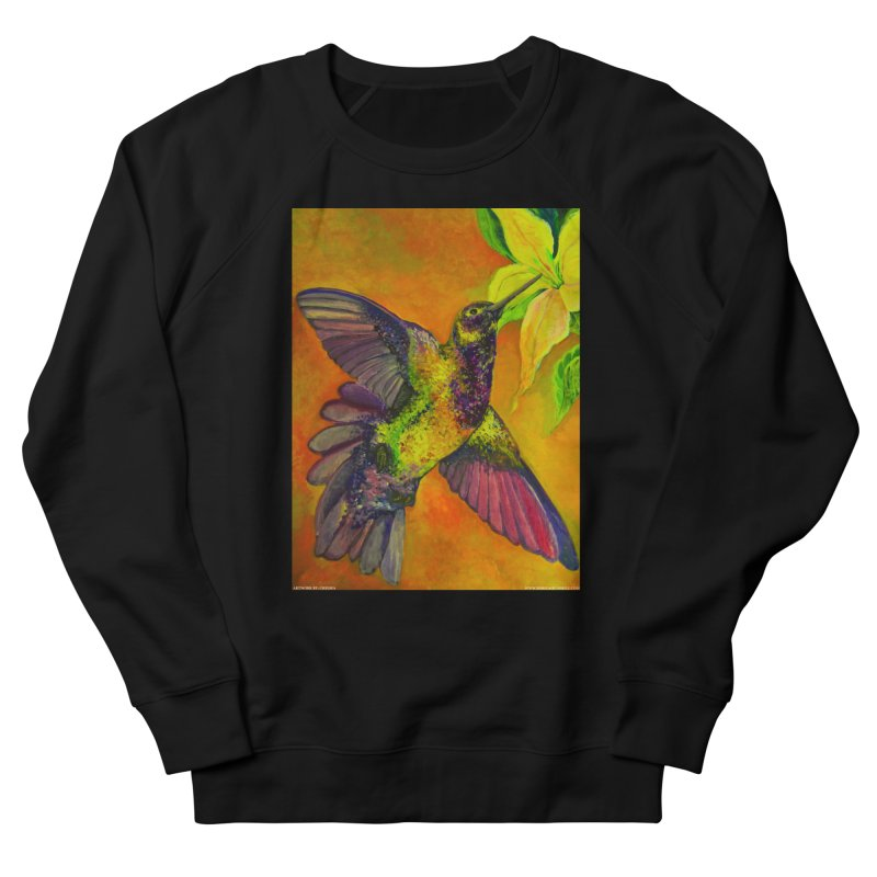 A Hummingbird's Desire Men's Sweatshirt by Every Drop's An Idea's Artist Shop