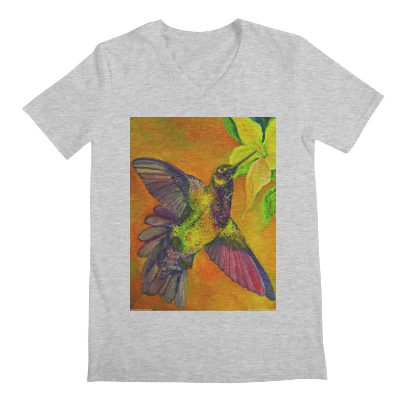 A Hummingbird's Desire Men's V-Neck by Every Drop's An Idea's Artist Shop