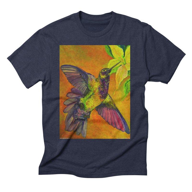 A Hummingbird's Desire Men's Triblend T-shirt by Every Drop's An Idea's Artist Shop