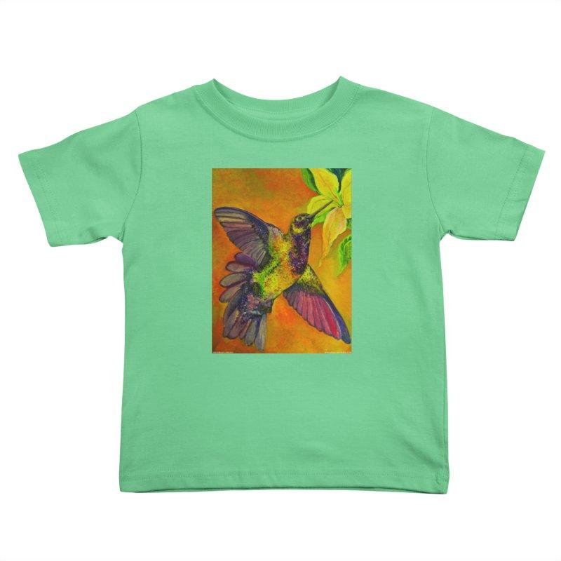 A Hummingbird's Desire Kids Toddler T-Shirt by Every Drop's An Idea's Artist Shop