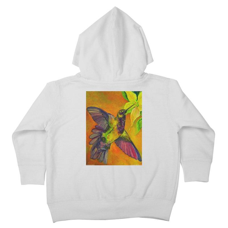 A Hummingbird's Desire Kids Toddler Zip-Up Hoody by Every Drop's An Idea's Artist Shop