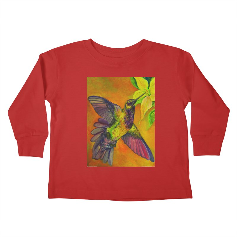 A Hummingbird's Desire Kids Toddler Longsleeve T-Shirt by Every Drop's An Idea's Artist Shop