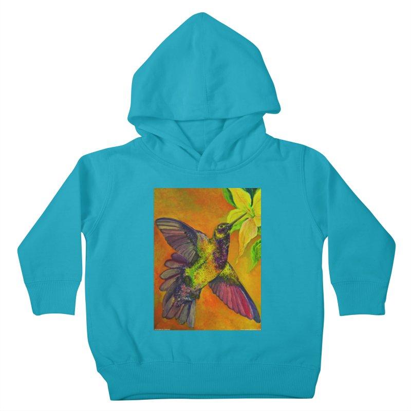 A Hummingbird's Desire Kids Toddler Pullover Hoody by Every Drop's An Idea's Artist Shop