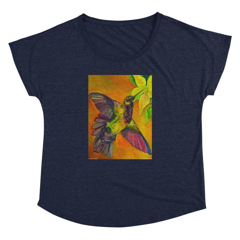 A Hummingbird's Desire Women's Dolman by Every Drop's An Idea's Artist Shop