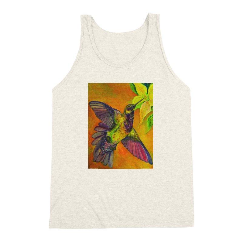 A Hummingbird's Desire Men's Triblend Tank by Every Drop's An Idea's Artist Shop