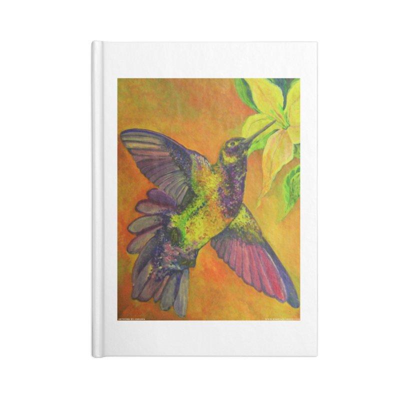 A Hummingbird's Desire Accessories Notebook by Every Drop's An Idea's Artist Shop
