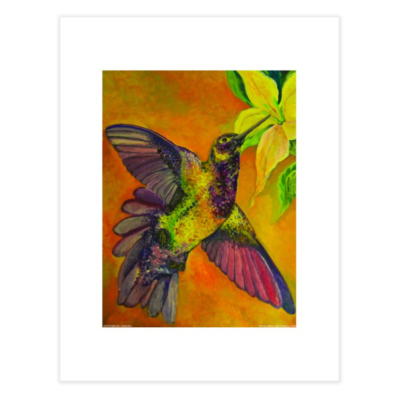 A Hummingbird's Desire Home Fine Art Print by Every Drop's An Idea's Artist Shop