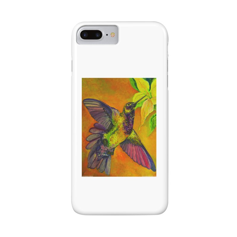 A Hummingbird's Desire Accessories Phone Case by Every Drop's An Idea's Artist Shop