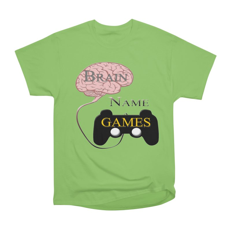 Brain Name Games Women's T-Shirt by Every Drop's An Idea's Artist Shop