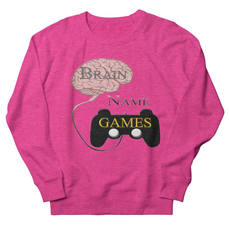 Brain Name Games Men's Sweatshirt by Every Drop's An Idea's Artist Shop