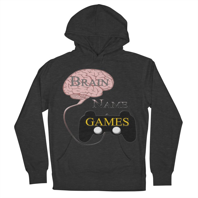 Brain Name Games Men's Pullover Hoody by Every Drop's An Idea's Artist Shop