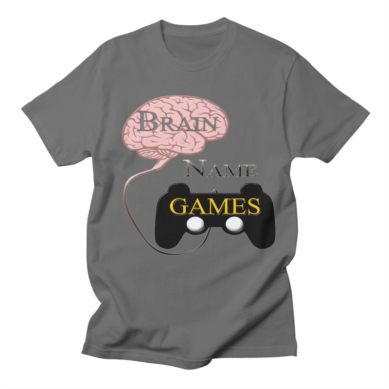 Brain Name Games Men's Lounge Pants by Every Drop's An Idea's Artist Shop