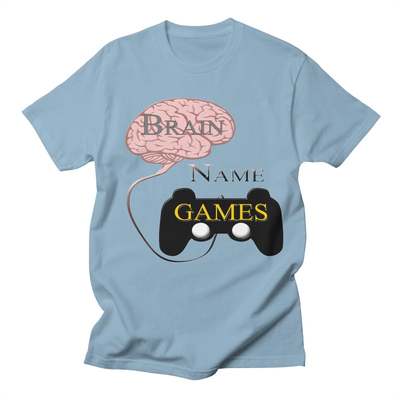 Brain Name Games Men's T-Shirt by Every Drop's An Idea's Artist Shop