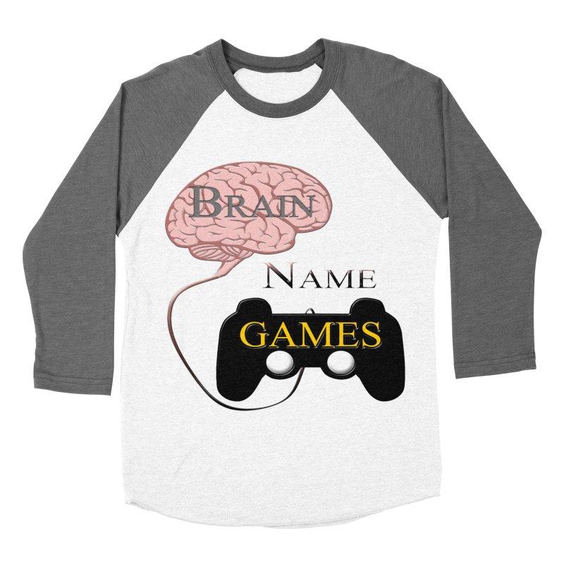 Brain Name Games Women's Longsleeve T-Shirt by Every Drop's An Idea's Artist Shop