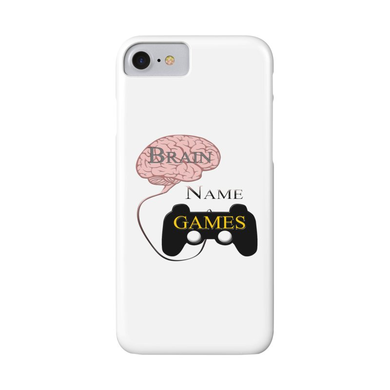 Brain Name Games Accessories Phone Case by Every Drop's An Idea's Artist Shop