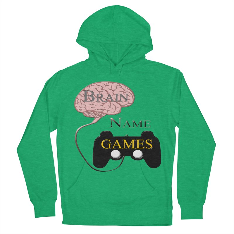 Brain Name Games Women's Pullover Hoody by Every Drop's An Idea's Artist Shop