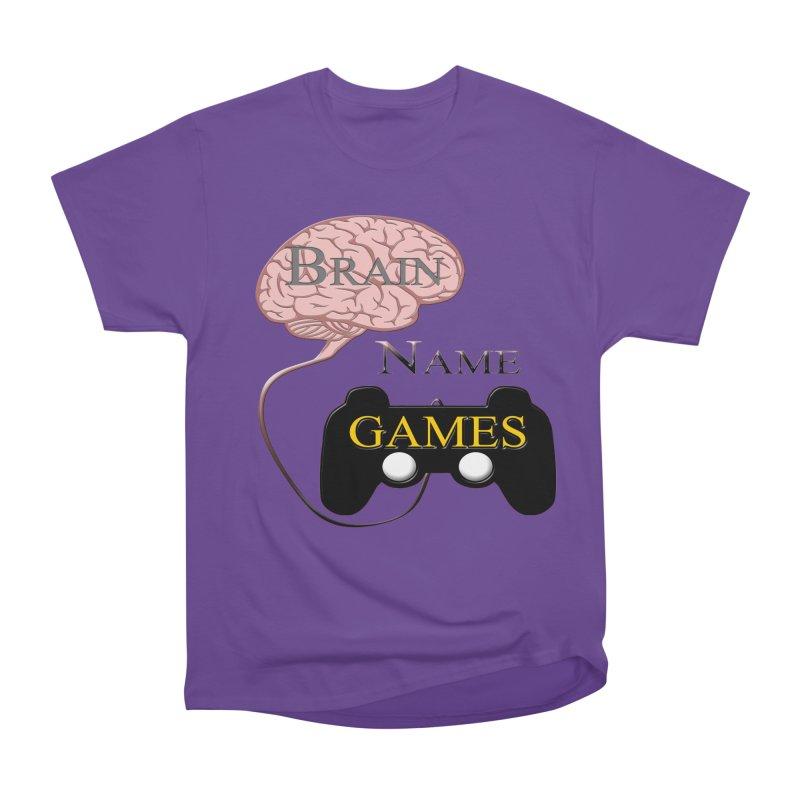 Brain Name Games Men's Classic T-Shirt by Every Drop's An Idea's Artist Shop
