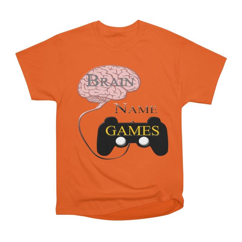 Brain Name Games Women's Classic Unisex T-Shirt by Every Drop's An Idea's Artist Shop