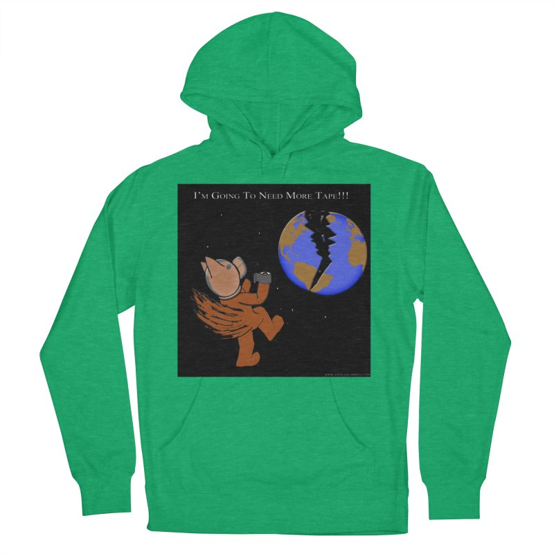 I'm Going To Need More Tape!!! Men's French Terry Pullover Hoody by Every Drop's An Idea's Artist Shop