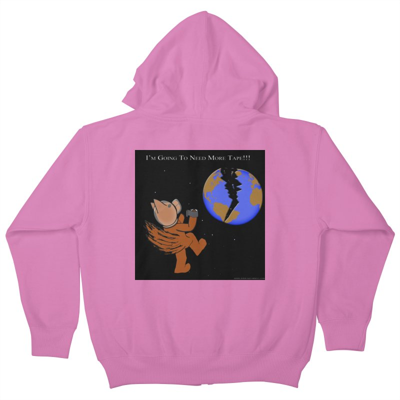 I'm Going To Need More Tape!!! Kids Zip-Up Hoody by Every Drop's An Idea's Artist Shop