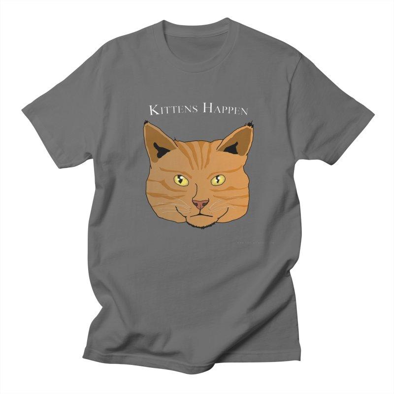 Kittens Happen Feminie T-Shirt by Every Drop's An Idea's Artist Shop