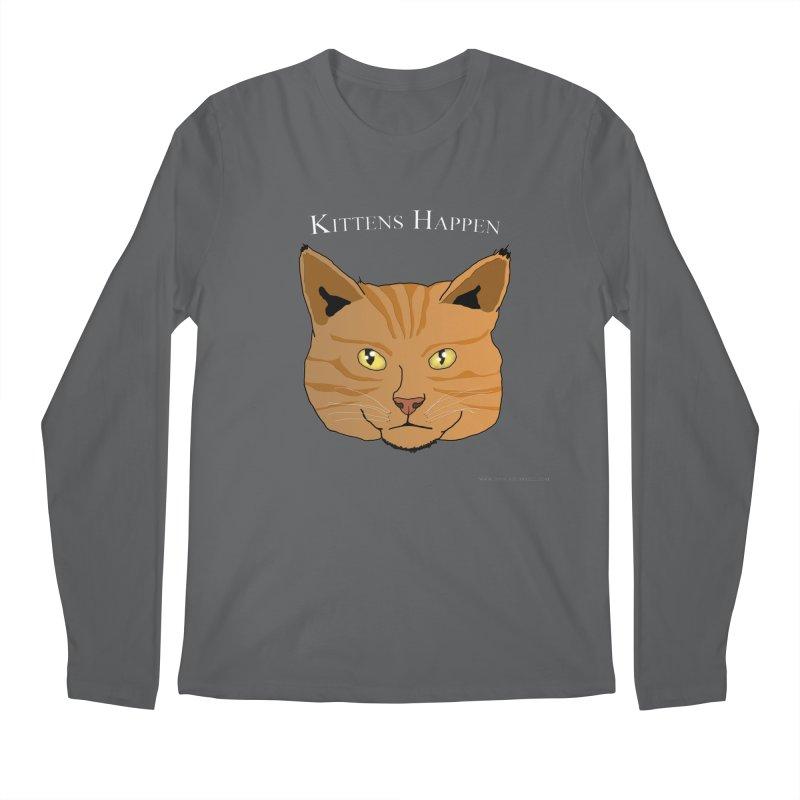 Kittens Happen Men's Longsleeve T-Shirt by Every Drop's An Idea's Artist Shop