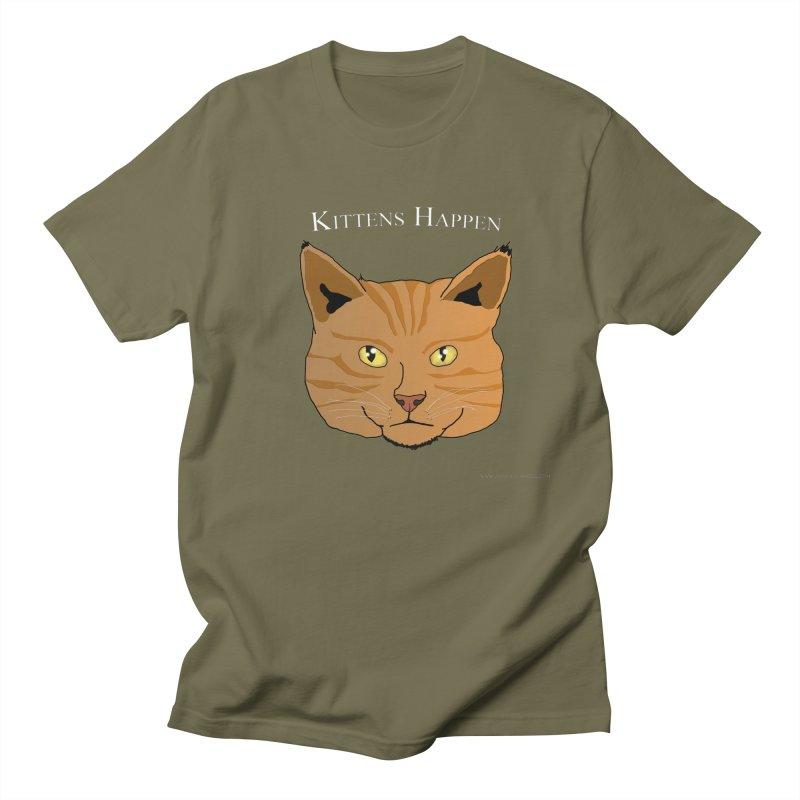 Kittens Happen Men's T-Shirt by Every Drop's An Idea's Artist Shop