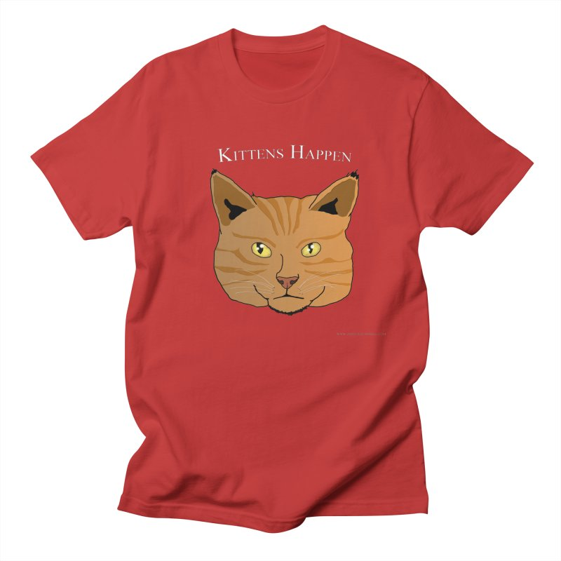 Kittens Happen Men's T-Shirt by Every Drop's An Idea's Artist Shop