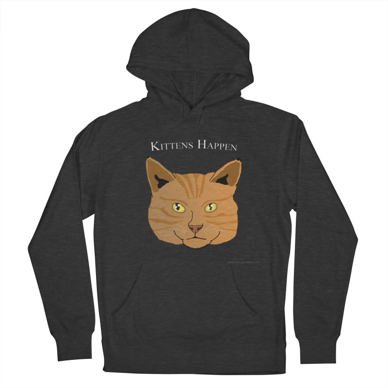 Kittens Happen Men's Pullover Hoody by Every Drop's An Idea's Artist Shop