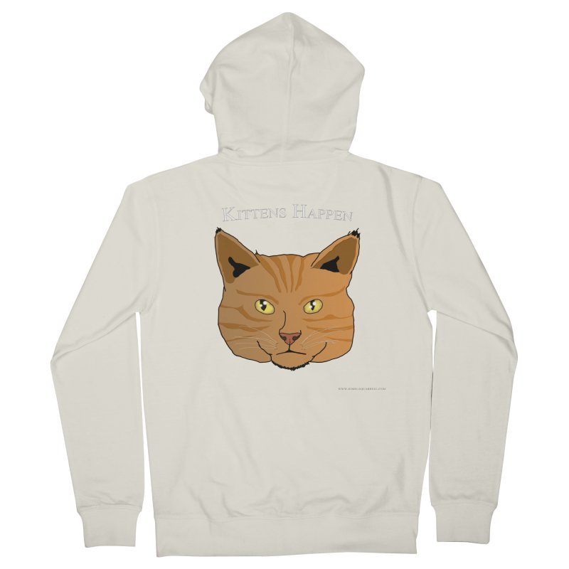 Kittens Happen Men's Zip-Up Hoody by Every Drop's An Idea's Artist Shop