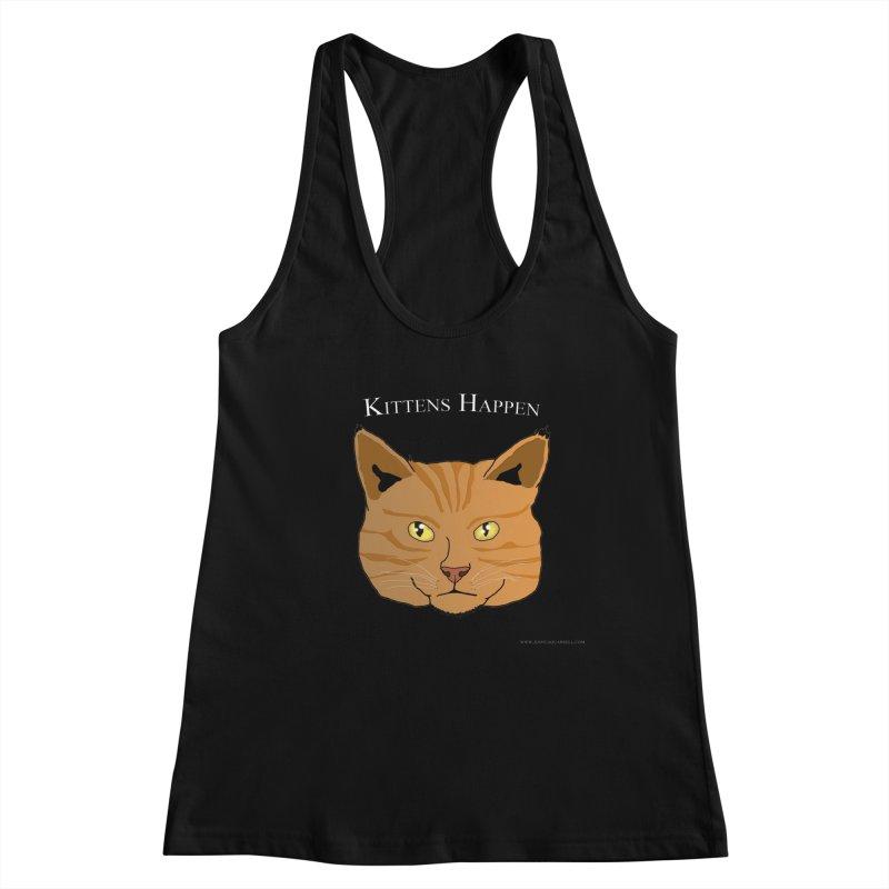 Kittens Happen Feminie Tank by Every Drop's An Idea's Artist Shop