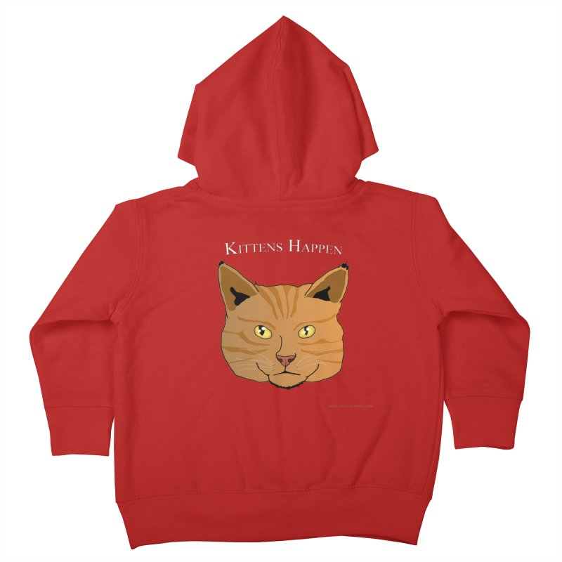 Kittens Happen Kids Toddler Zip-Up Hoody by Every Drop's An Idea's Artist Shop