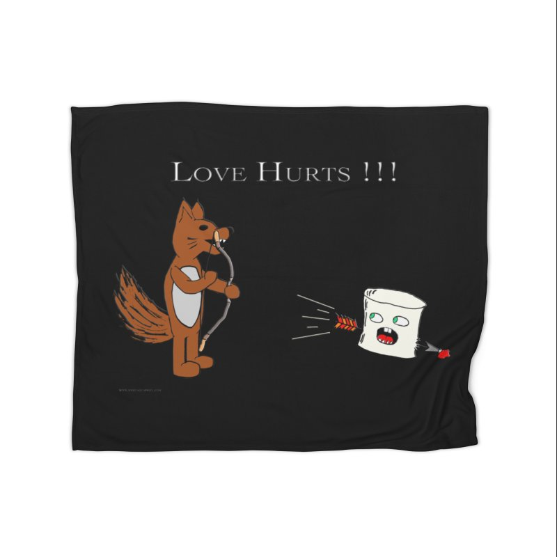 Love Hurts!!! Home Blanket by Every Drop's An Idea's Artist Shop