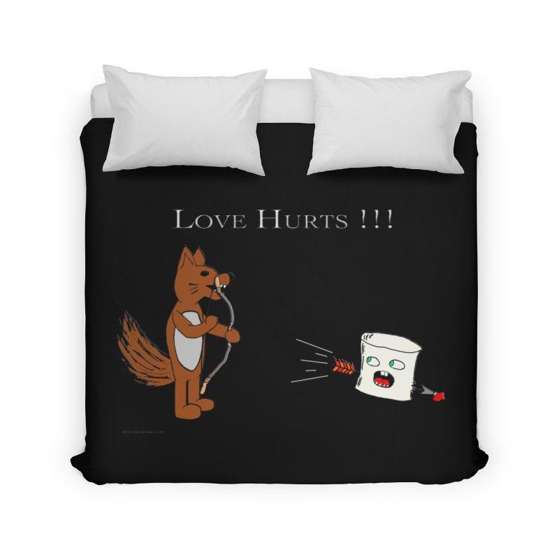 Love Hurts!!! Home Duvet by Every Drop's An Idea's Artist Shop