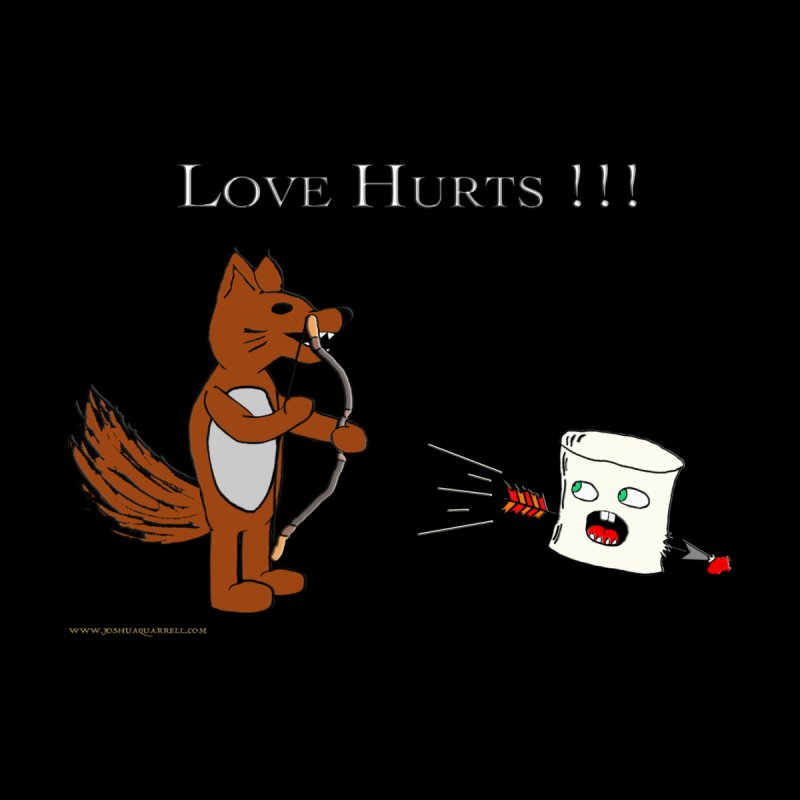 Love Hurts!!! Men's T-Shirt by Every Drop's An Idea's Artist Shop