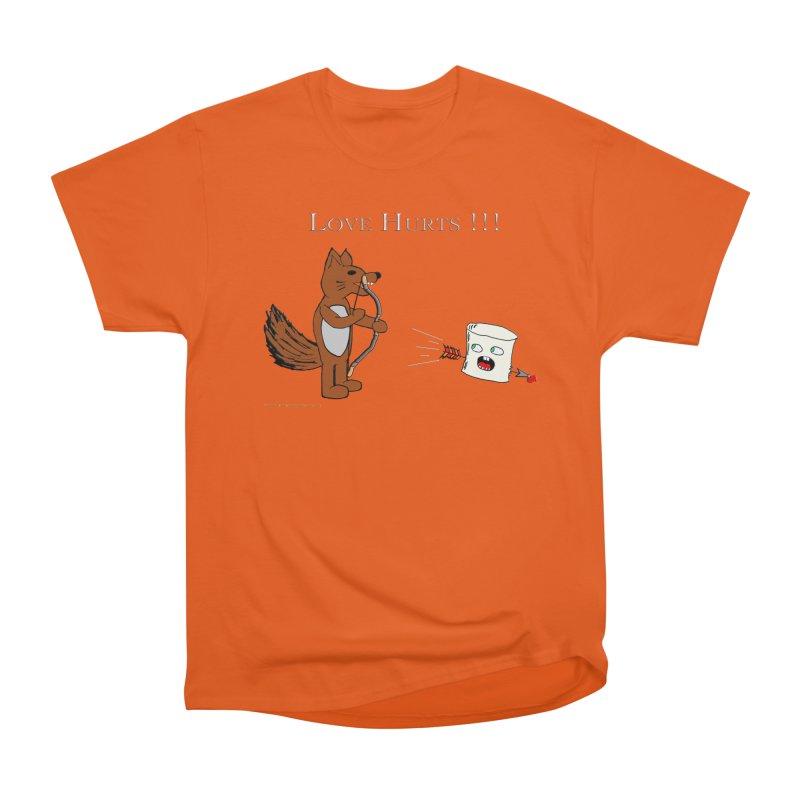 Love Hurts!!! Men's Heavyweight T-Shirt by Every Drop's An Idea's Artist Shop