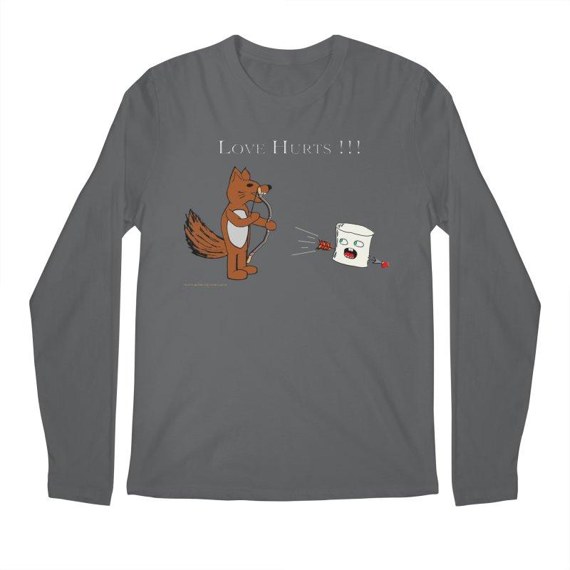 Love Hurts!!! Men's Regular Longsleeve T-Shirt by Every Drop's An Idea's Artist Shop