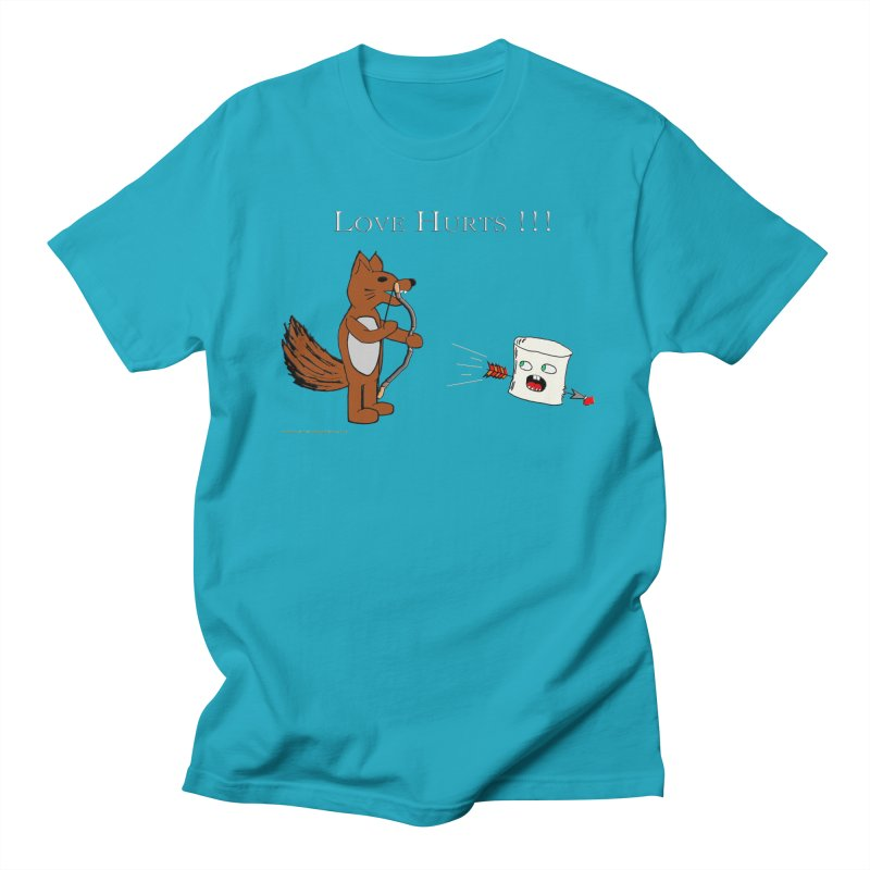 Love Hurts!!! Men's T-Shirt by Every Drop's An Idea's Artist Shop